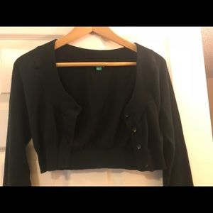 United colors of benetton cropped cardigan